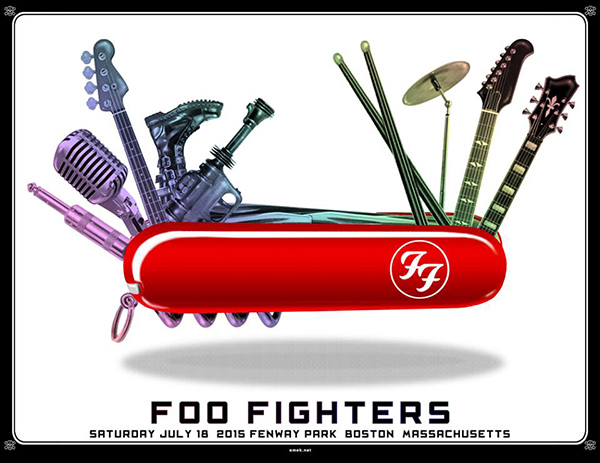 Emekx Foo Fighters Quot Fenway Park Quot